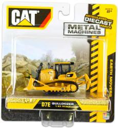 Toy State CAT Fém munkagépek - D7E lánctalpas buldózer 1:83