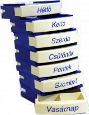 MEDIBOX Heti gyógyszeradagoló