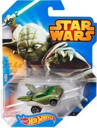 Mattel Hot Wheels - Star Wars kisautók - Yoda (CGW40)