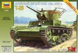 Zvezda Soviet T-26 Tank 1/35 3538