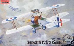 Roden Sopwith F 1/3 Comic Camel 1/72 051