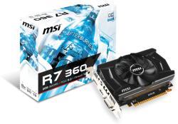 MSI Radeon R7 360 2GB GDDR5 128bit PCIe (R7 360 2GD5 OCV1)