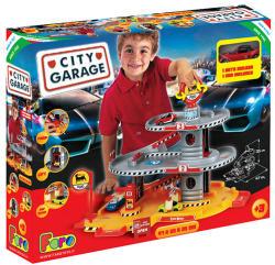 Faro Toys Háromszintes parkolóház autóval - Agip