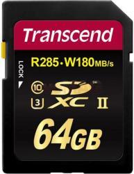 Transcend SDXC 64GB Class 10 UHS-II U3 TS64GSD2U3