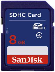 SanDisk 8GB SDHC Card SDSDB-8192-E11