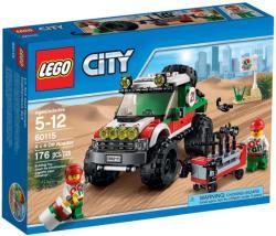 LEGO City - 4 x 4 terepjáró (60115)