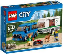 LEGO City - Furgon és lakókocsi (60117)