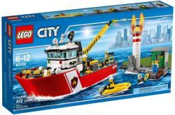 LEGO City - Tűzoltóhajó (60109)