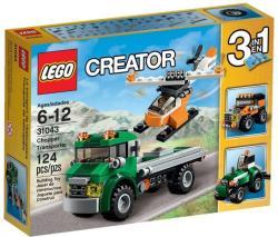 LEGO Creator - Helikopterszállító kamion (31043)