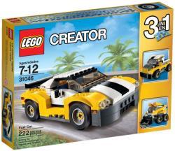 LEGO Creator - Sárga gyorsasági autó (31046)