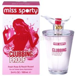 Miss Sporty Clubbing Proof EDT 100ml
