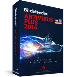 Bitdefender Antivirus Plus 2016 Renewal (1 Device/1 Year) UD31011001