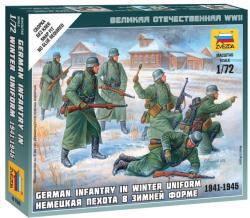 Zvezda German Infantry Winter Uniform Small 1/72 6198