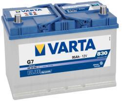 VARTA G7 Blue Dynamic 95Ah EN 830A Jobb+ Ázsia (595 404 083)