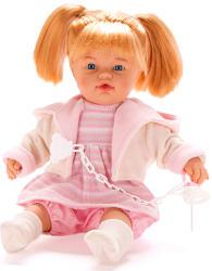 Falca Toys Síró lány baba cumival - 38 cm