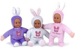 Peterkin Little Bunny baba nyuszi jelmezben - 18 cm (többféle)