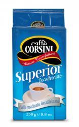Caffé Corsini Superior Decaffeinato, őrölt, 250g