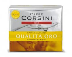 Caffé Corsini Qualitá Oro, őrölt, 2x250g