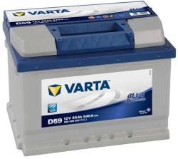 VARTA D59 Blue Dynamic 60Ah EN 540A Jobb+ alacsony (560 409 054)