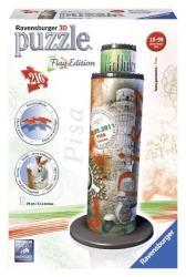 Ravensburger 3D Puzzle - Flag Edition: Zászlós Pisai ferde torony 216 db-os (12581)