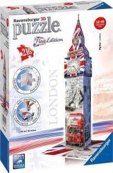 Ravensburger 3D Puzzle - Flag Edition - Zászlós Big Ben 216 db-os (12582)