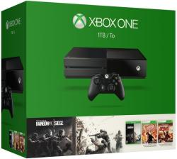 Microsoft Xbox One 1TB + Rainbow Six Siege + Rainbow Six Vegas + Rainbow Six Vegas 2