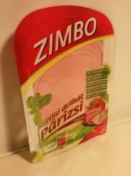 ZIMBO Premium Pilisi Delikát Párizsi Sertéshúsból (70g)