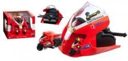 Mondo Motors Set Lansator Cu 2 Motociclete - Ducati Valentino Rossi (66068)