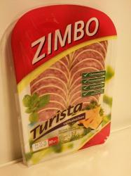 ZIMBO Turista Sajtkabátban Sertéshúsból (80g)