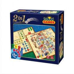D-Toys Joc 2 in 1 - Oh, pardon! si Sus-Jos (64806)
