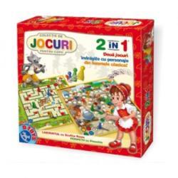 D-Toys Joc 2 in 1 - Scufita Rosie si Pinocchio (60785)