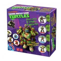 D-Toys Teenage Mutant Ninja Turtles: Jocul luptei de strada a clanului Foot - Joc de strategie (71514)