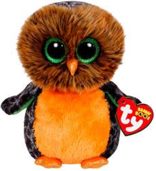 TY Inc Beanie Boos: Midnight - Baby bufnita portocaliu 15cm (TY41126)