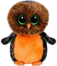 TY Inc Beanie Boos: Midnight - Baby bufnita portocaliu 24cm (TY37030)