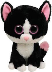 TY Inc Beanie Boos: Pepper - Baby pisica neagra 24cm (TY36924)