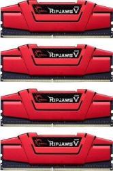 G.SKILL RipjawsV 16GB (4x4GB) DDR4 2666MHz F4-2666C15Q-16GVR