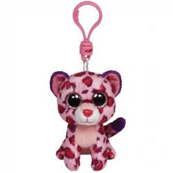 TY Inc Beani Boos Clip - Baby leopard roz 8,5cm (TY36585)