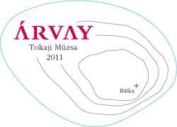 ÁRVAY Tokaji Múzsa Cuvée 2011 (0,5L)