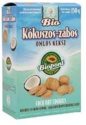 Biopont Bio Omlós Keksz Kókuszos Zabos (150g)