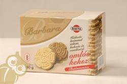 Barbara Gluténmentes Omlós Keksz Kakaós (180g)