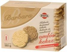 Barbara Gluténmentes Kakaós Izű Keksz (180g)