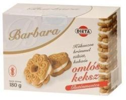 Barbara Gluténmentes Kókuszos Ízű Keksz (180g)