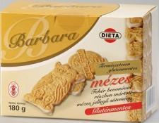 Barbara Gluténmentes Mézes Fehércsokoládés (180g)
