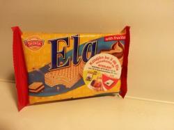 Ela Csokoládé Ízű Kakaós Krémmel Töltött Ostya Gyümölcscukorral (40g)