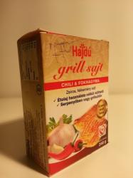 Hajdú Chillis És Fokhagymás Grill Sajt (240g)