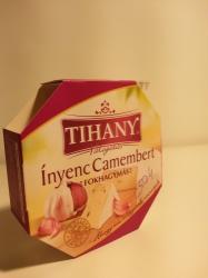 TIHANY Válogatás Ínyenc Camembert Fokhagymás (125g)