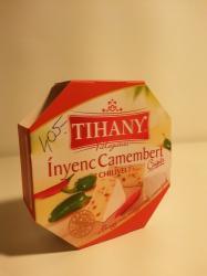 TIHANY Válogatás Ínyenc Camembert Chilivel (125g)