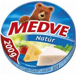 MEDVE Natúr Kenhető Zsíros Ömlesztett Sajt 8db (200g)