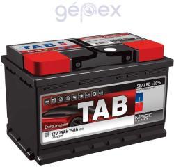 TAB Magic 75Ah 750A Jobb+