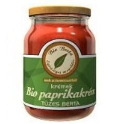 Bio Berta Bio Paprikakrém Tüzes (210g)